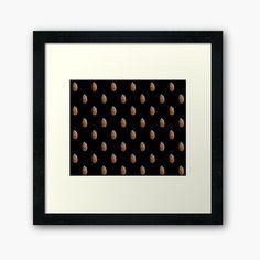 Black Framed Art, Framed Art Prints, Pine Cones, Top Artists, Print Design, Finding Yourself, Objects, Polka Dots, Printed