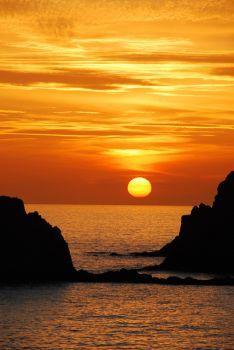 Puesta de sol en Cabo de Gata by Gabriele Asnaghi