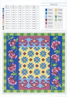 ♥Meus Gráficos De Ponto Cruz♥: Almofadas Ponto Cruz Patchwork Diy Embroidery, Cross Stitch Embroidery, Embroidery Patterns, Cross Stitch Designs, Cross Stitch Patterns, Lotus Bleu, Biscornu Cross Stitch, Cross Stitch Boards, Cross Stitch Pictures
