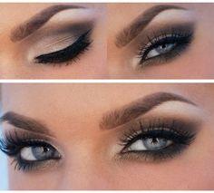 Beautiful Make-Up For Blue Eyes
