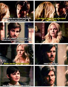 CaptainSwan <3. I love them, I love the way they believe in each other and how they both put their dears before anything else. My favorite part of the episode was definitely Captain White Swan. This was a beautiful moment and I love that Snow is back giving her badass speeches.