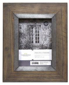 "Threshold 5""x7"" Frame Gray"