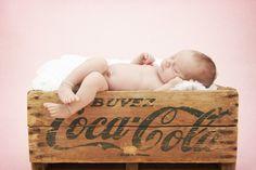 love the old coke box idea