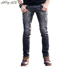 {Get it here ---> https://tshirtandjeans.store/products/2017-aking-ace-ripped-jeans-for-men-designer-mens-light-grey-biker-jeans-skinny-slim-fit-29-36-rip-jeans-denim-man-za258/|    Brand-new arrival 2017 AKing ACE Ripped Jeans for men designer mens light Grey biker jeans skinny slim fit 29-36 rip jeans denim man, ZA258 now available for sale $US $59.59 with free delivery  you can find that piece plus much more at the website      Grab it now at this website…
