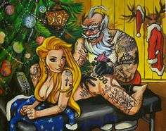 Дед Мороз Санта Клаус Santa Claus comix the snow tattoo designs Cute Cartoon Pictures, Cartoon Pics, Cartoon Drawings, Art Drawings, Anime Gangster, Grafiti, Chicano Art, Arte Pop, Weird Art