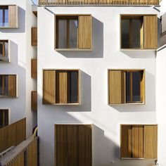 social housing, the European (better) way - Passage de la Brie, Explorations Architecture