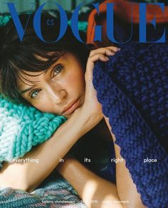 Helena Christensen Covers Vogue Czechoslovakia October 2019 Issue