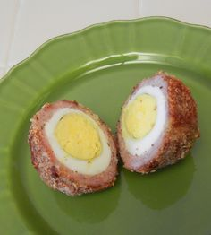 Baked Scotch Eggs Recipe - Low Carb Protein Packed Traditional British Picnic Food with a Healthy Twist