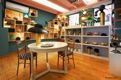 Marat. Store in Mallorca where you can get handmade designer hats. Marat Atelier Sombreros, tocados artesanales y de diseño