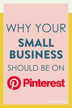 Your small business should be on Pinterest for Business! Here's how to get started and what to expect. Seo Tutorial, Pinterest For Business, Business Inspiration, Pinterest Marketing, Social Media Tips, Affiliate Marketing, Get Started, How To Find Out, Reading