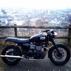 Triumph bonneville t100 black                              …