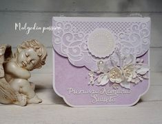 Cute Cards, Decorative Boxes, Container, Frame, Diy, Invitations, Envelopes, Picture Frame, Pretty Cards