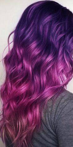Holographic hair 15 Tue - Newest Hair Design - Blonde Ombre Hair, Dyed Hair Ombre, Hair Streaks, Ombre Hair Color, Cool Hair Color, Creative Hair Color, Hair Lights, Light Hair, Dark Hair