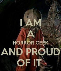 Proud horror geek Horror Movie Characters, Best Horror Movies, Horror Show, Scary Movies, Horror Art, Comedy Movies, Scary Movie Quotes, Scary Scary, Dark Beauty
