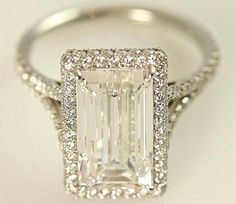 In my dreams!!!! GIA certified 5 carat Emerald Cut Diamond by BeautifulPetra, $100000.00