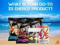 Whats your go-to XS Energy product that you wouldnt dare leave the house without? You can get your own XS at www.amway.com/wallis-group