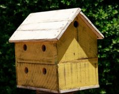 Antique style dovecote large bird house di LynxCreekDesigns