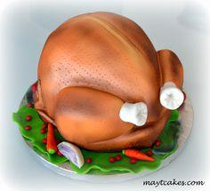 Navidad y Halloween Halloween, Roasted Turkey, Christmas Pies, Fondant Cakes, Spooky Halloween