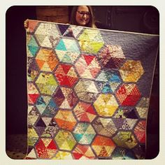 A better idea for the project I have a bunch of triangles pre-cut for!