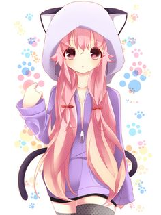 Fan Art of Kawaii Girls for fans of Anime 35341080 Anime Neko, Manga Anime, Gato Anime, Neko Neko, Anime Eyes, Art Kawaii, Manga Kawaii, Kawaii Anime Girl, Kawaii Chibi
