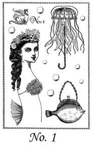 She Sells Sea Shells Stamp Set 1