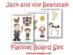 Jack and the Beanstalk Flannel Board Set