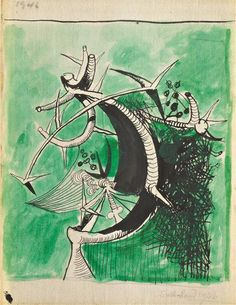 graham sutherland, untitled (1946)