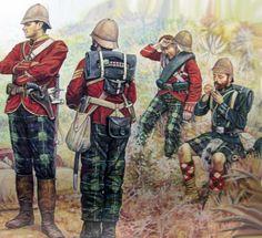 British highlanders, Boer War
