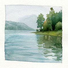 Watercolor paintings. representation #watercolorarts
