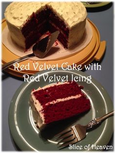 In honor of the of July, I decided to post, in my opinion, the best recipe out there for red velvet cake! In January, my mom and I have birthdays just a week apart from each other. For as long. Red Velvet Cake Icing, Red Velvet Birthday Cake, Round Cake Pans, Round Cakes, Ermine Frosting, Butter Icing, Cake Mixture, Caking It Up, Red Food Coloring