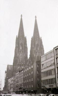 1969 Köln - Komödienstraße, Kölner Dom  ☺