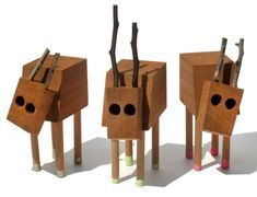Handmade Wooden Toys by David Budzik
