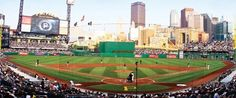 PNC Park is one of America's most beautiful ball parks. Don't forget to cheer on the home team when you are there! Let's Go Bucs!