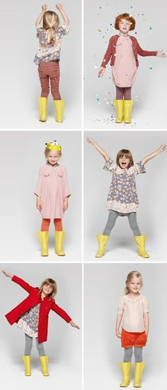Kids fashion - Stella Mc Cartney Get Hallie some yellow rain boots! So cute :)