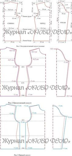 ПОСТРОЕНИЕ ВЫКРОЕК РАЗЛИЧНЫХ СИЛУЭТОВ ДЛЯ ТРИКОТАЖНЫХ ИЗДЕЛИЙ...<3 Deniz <3 Dress Sewing Patterns, Blouse Patterns, Clothing Patterns, Sewing Hacks, Sewing Tutorials, Sewing Projects, Pattern Cutting, Pattern Making, Bodice Pattern