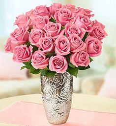 Pink Petal Roses, 12-24  $64.99
