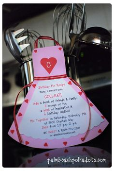 Valentine Valentine's Day Cooking Party by palmbeachpolkadots, $2.50