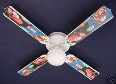 42 race car ceiling fan 5 blade 2 light 3 speed new cars room new cars lightning mcqueen mater ceiling fan 42 aloadofball Image collections