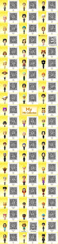 Eni's Mii Collection