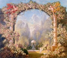 Fantasy and Mythology by Kinuko Y. Craft, via Behance