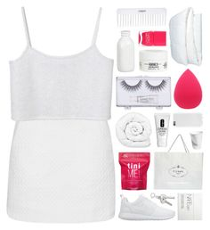 """""""NOT ALL THESE DAYS ARE BAD."""" by annamari-a ❤ liked on Polyvore featuring Topshop, Monki, NIKE, Me! Bath, Nails Inc., Brinkhaus, Clinique, Sonia Kashuk, NARS Cosmetics and Crate and Barrel"""