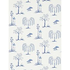 Buy Sanderson Home Willow Tree Paste the Wall Wallpaper Online at johnlewis.com