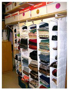 Sewing room closet organization fabric organizer 19 ideas for 2019 Sewing Room Storage, Yarn Storage, Sewing Room Organization, Craft Room Storage, My Sewing Room, Sewing Rooms, Fabric Storage, Fabric Organizer, Sweater Storage