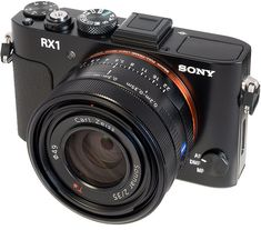 Sony RX1. The world's first fixed lens digital compact camera with a full-frame 24-Megapixel sensor.