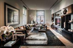 Exclusieve interieurs met luxe meubels
