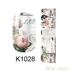 Full-Sheet-Self-Adhesive-Polish-Foils-Nail-Art-Decals-Stickers-Manicure-Wraps-B2