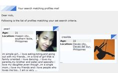 Perfect match online dating site