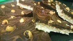 Chocolate and Hazelnut oat bars