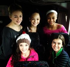 Dance moms... Is it just me or does kalani look EXACTLY like her mom in this pic???