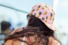 50+ Stylish Folks Who Rocked Coachella #refinery29  http://www.refinery29.com/coachella-style#slide24  Pineapples are slowly replacing oranges as the fruit of the season.